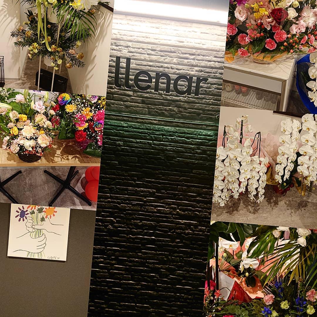 皆さん、沢山のお花ありがとうございます 次はたくさんのご来店お待ちしております。 10月オープンしました。 太田初スペインバル。  open